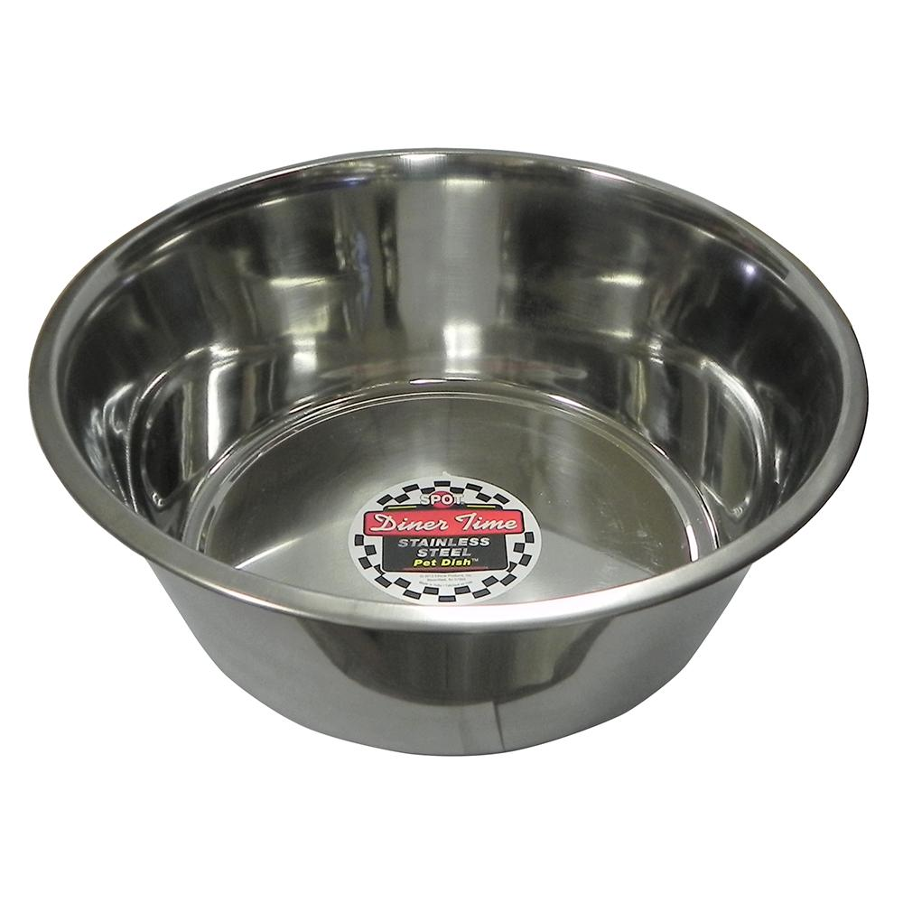 Stainless Steel Dog Food/Water Bowl 5 Qt