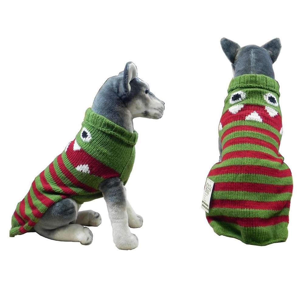 Handmade Dog Sweater Wool Lil Monster XXSmall