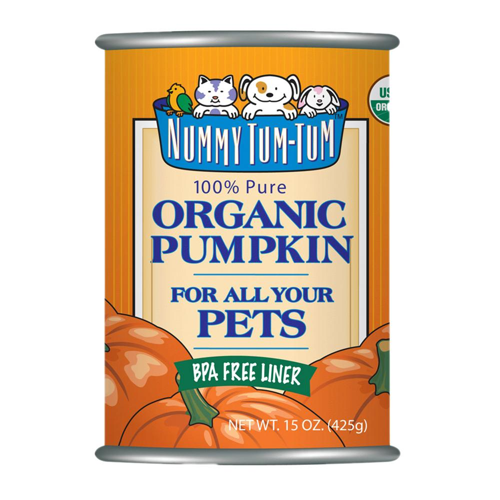 Nummy Tum Tum 100% Organic Pumpkin for Dogs 15-oz.