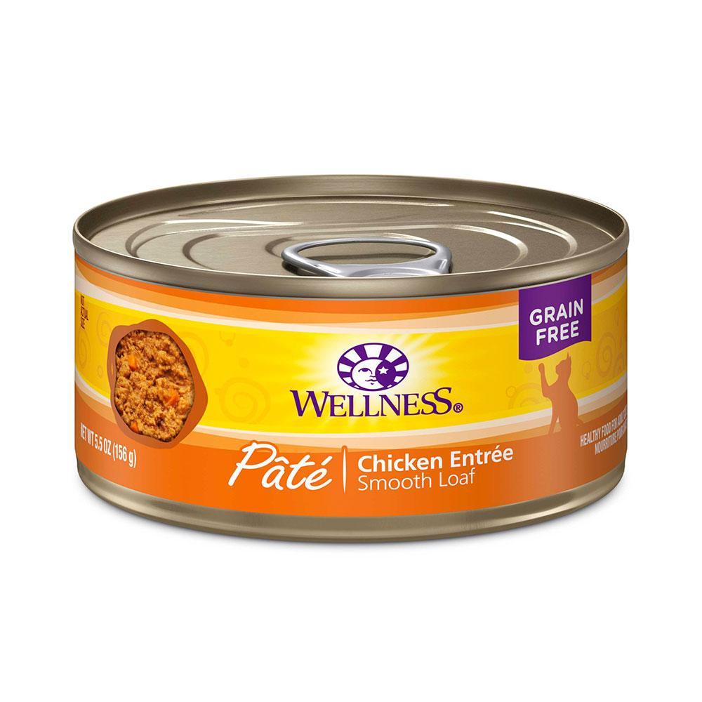 Wellness Chicken Canned Cat Food 5.5-oz each