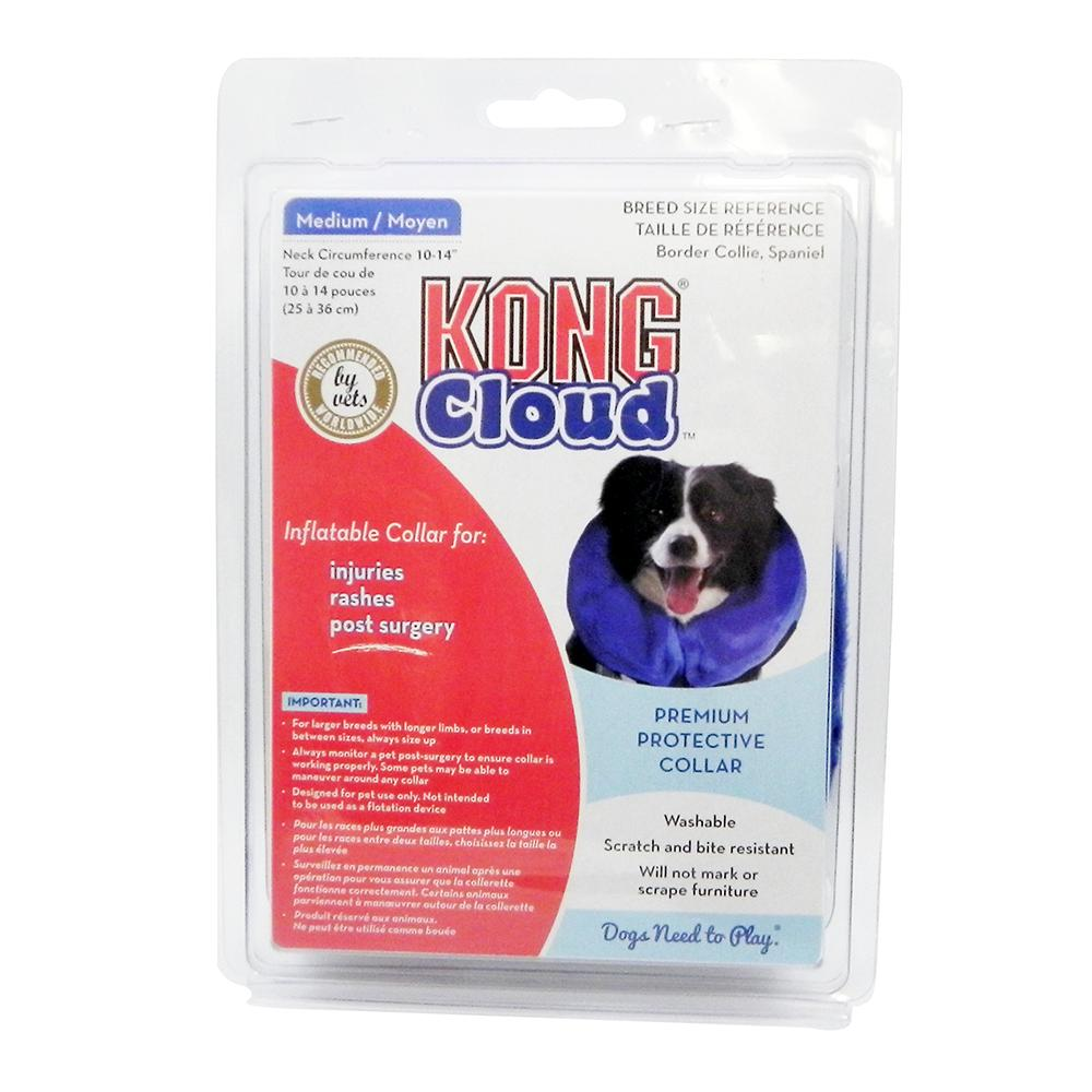 KONG Cloud Soft Inflatable E-Collar Medium
