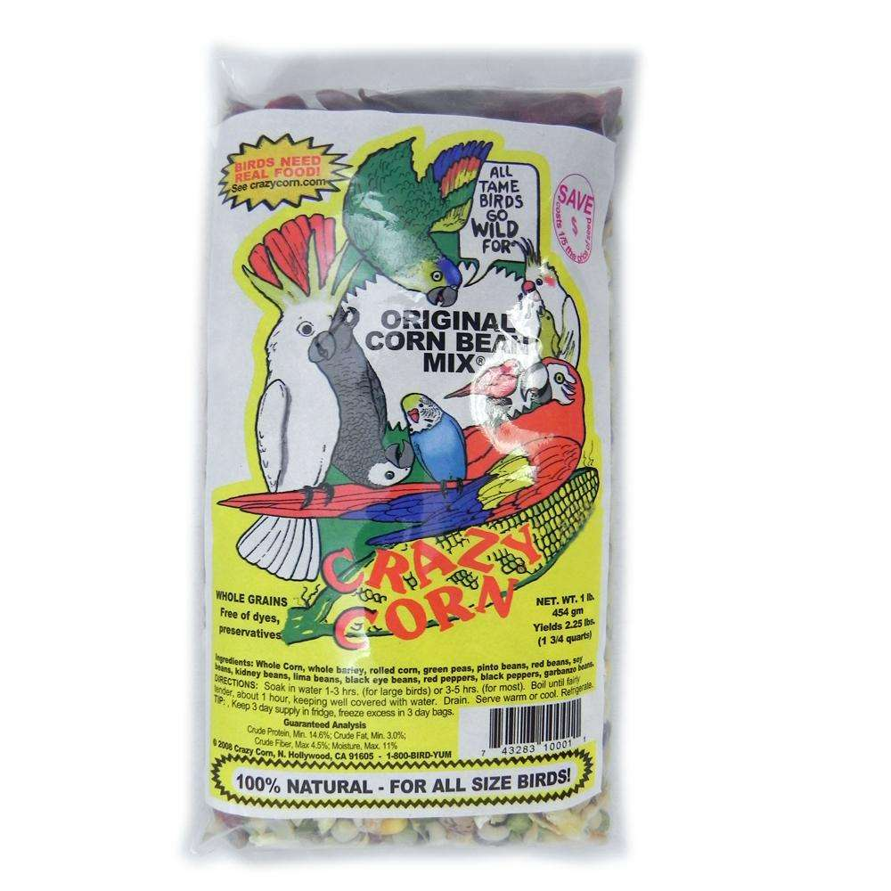 Crazy Corn Original Corn N Beans 1 pound DISCONTINUED