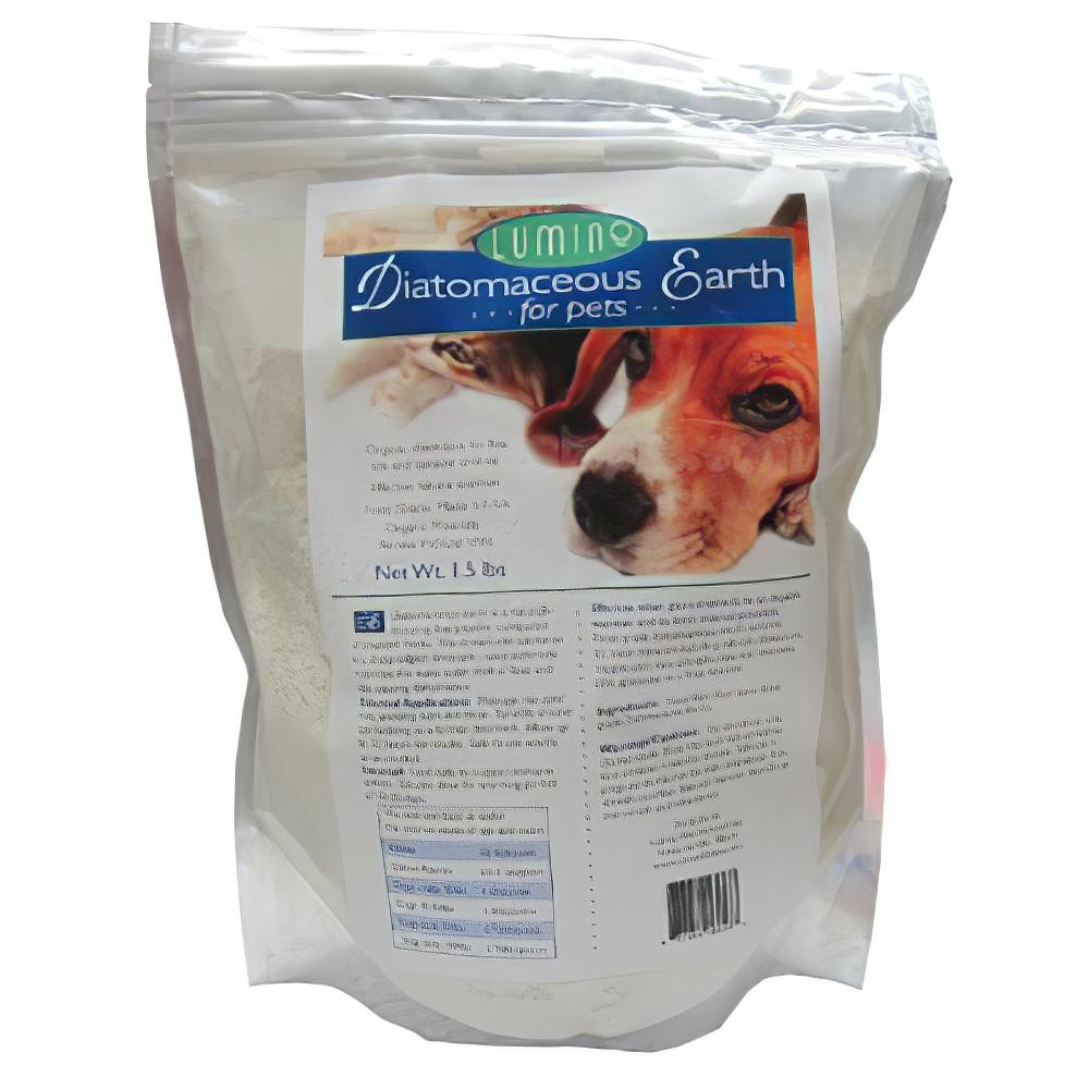 Lumino Organic Diatomaceous Earth for Pets 1.5 Pound