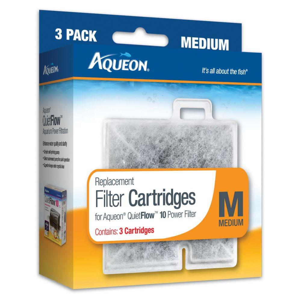 Aqueon Replacement Filter Cartridge M Medium 6 Pack