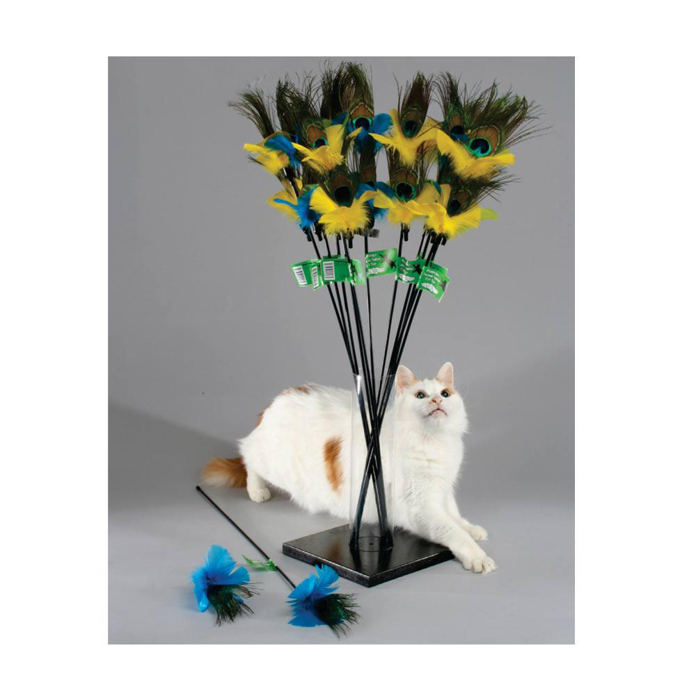 PURRFect Peacock Cat Toy
