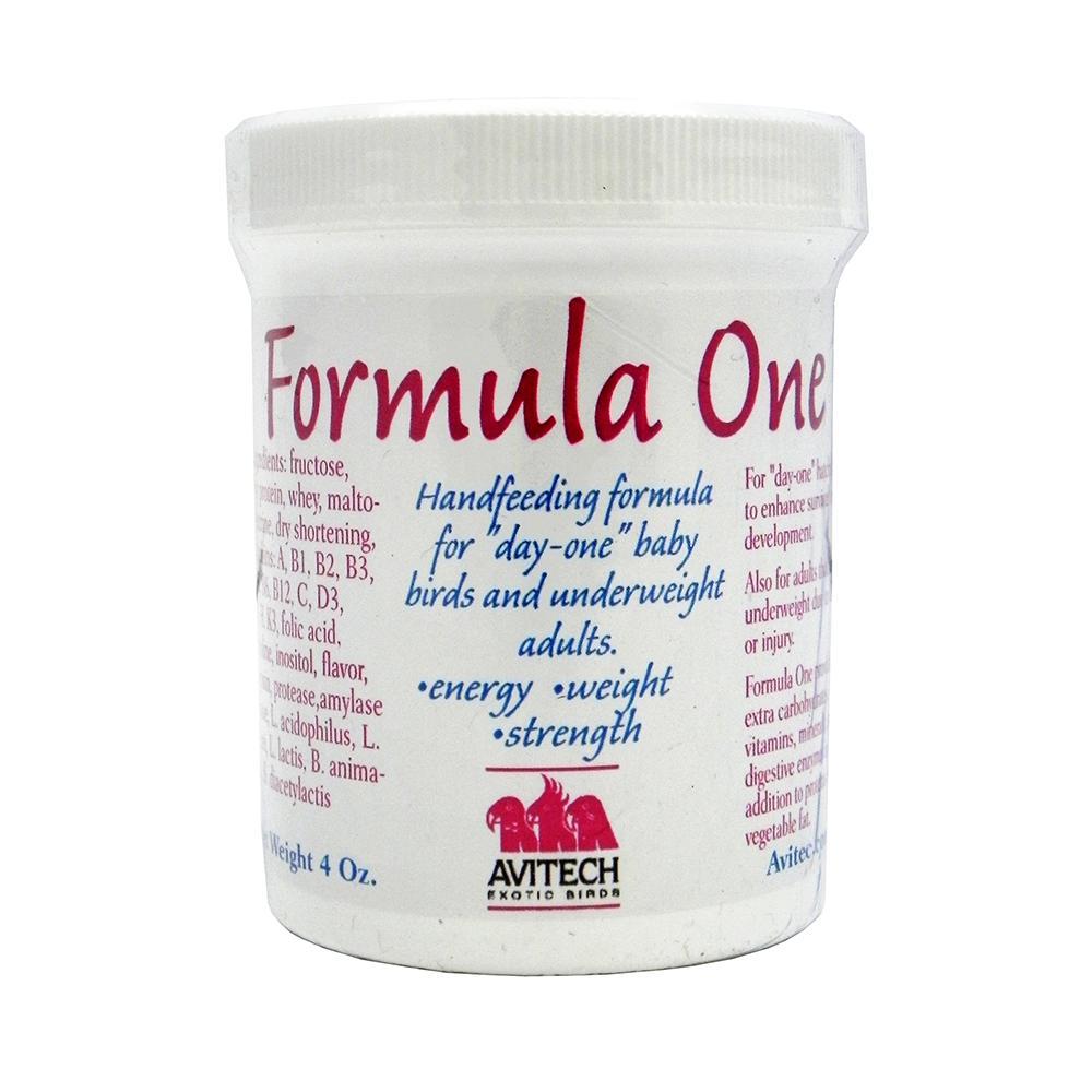 Avitech Formula One Handfeeding Supplement for Birds 4oz.