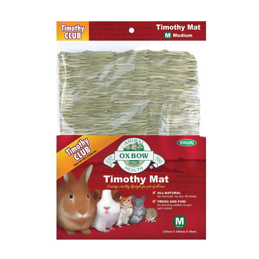 Oxbow Timothy Mat Medium Edible Small Animal Accessory