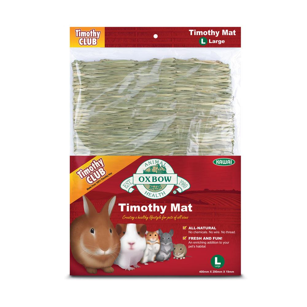 Oxbow Timothy Mat Large Edible Small Animal Accessory