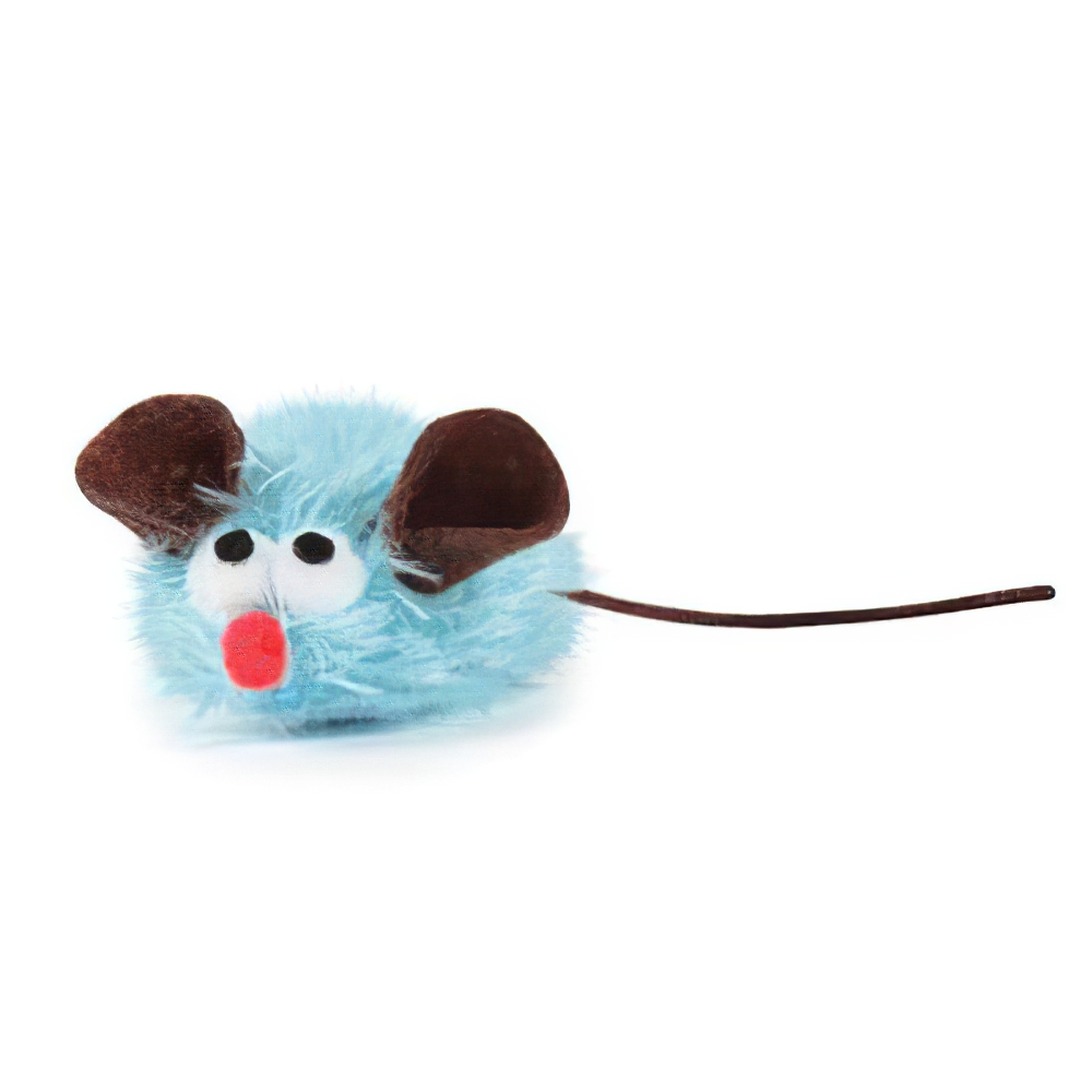 Savy Tabby Snuggle Mouse Cat Toy