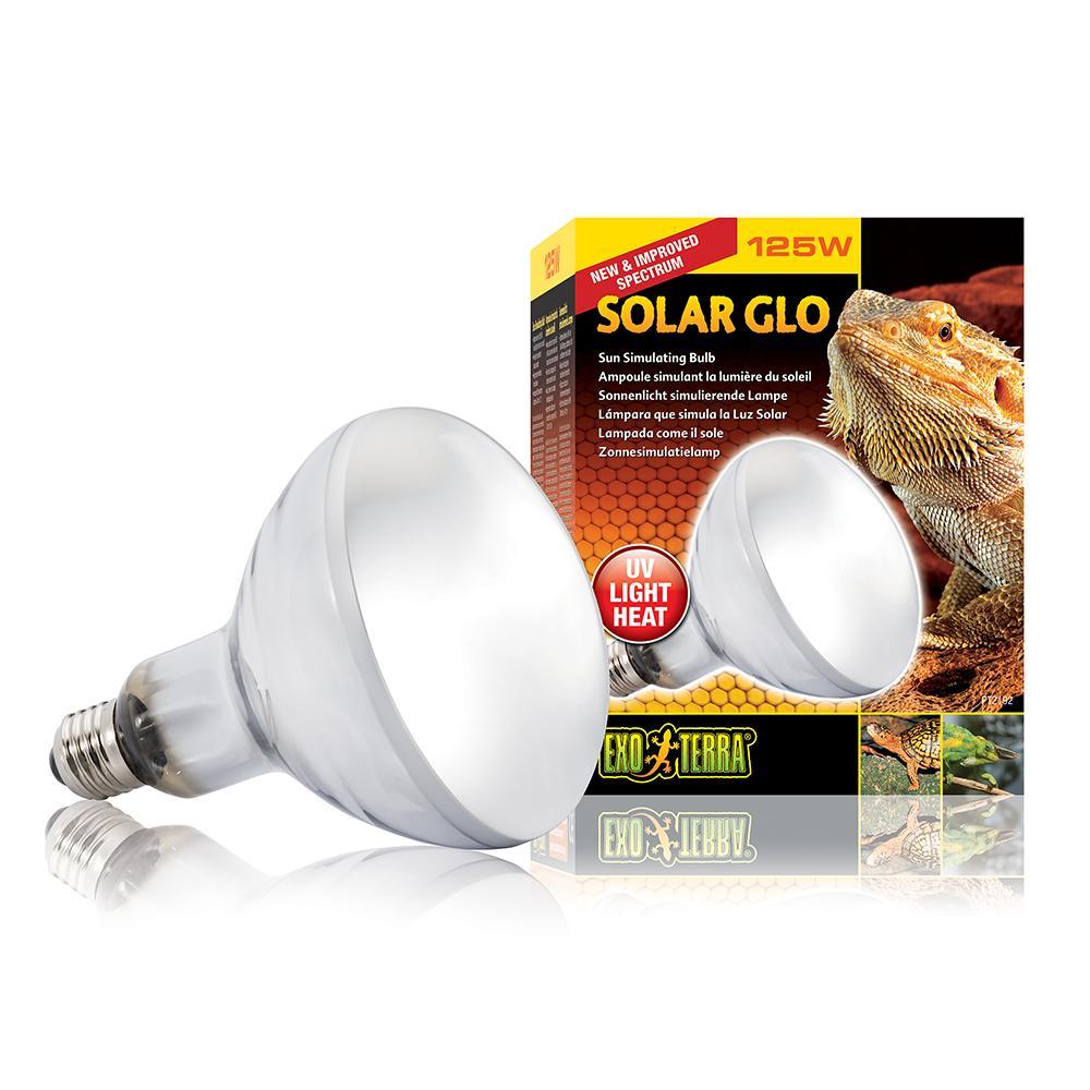 Exo Terra Solar Glo 125 watt UV Reptile Bulb