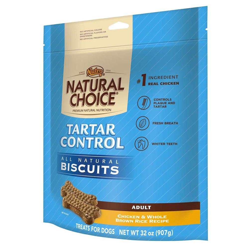 Nutro Natural Choice Tartar Control Dog Biscuits 32-oz.