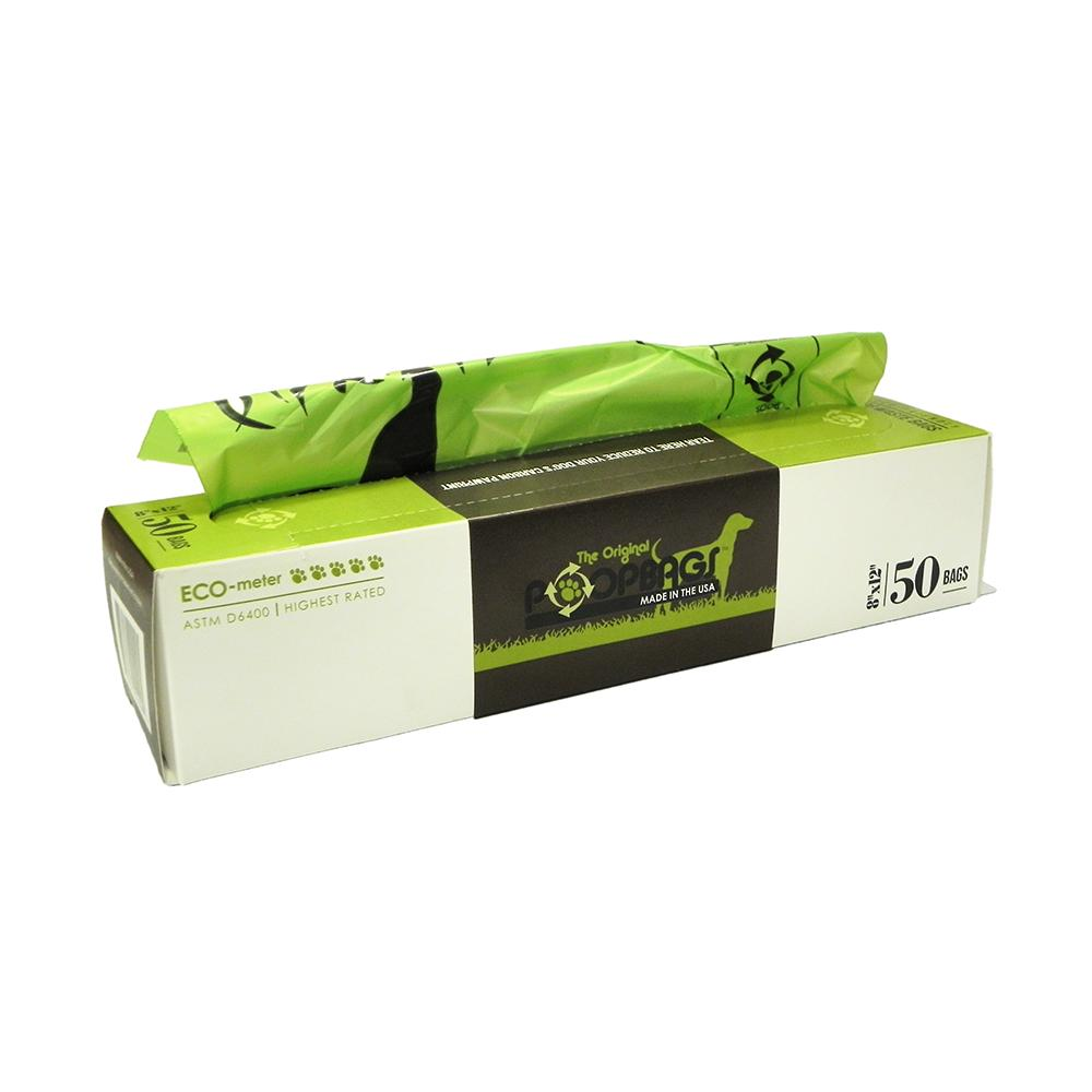 PoopBags Pick-up Bags ASTM D6400 50ct