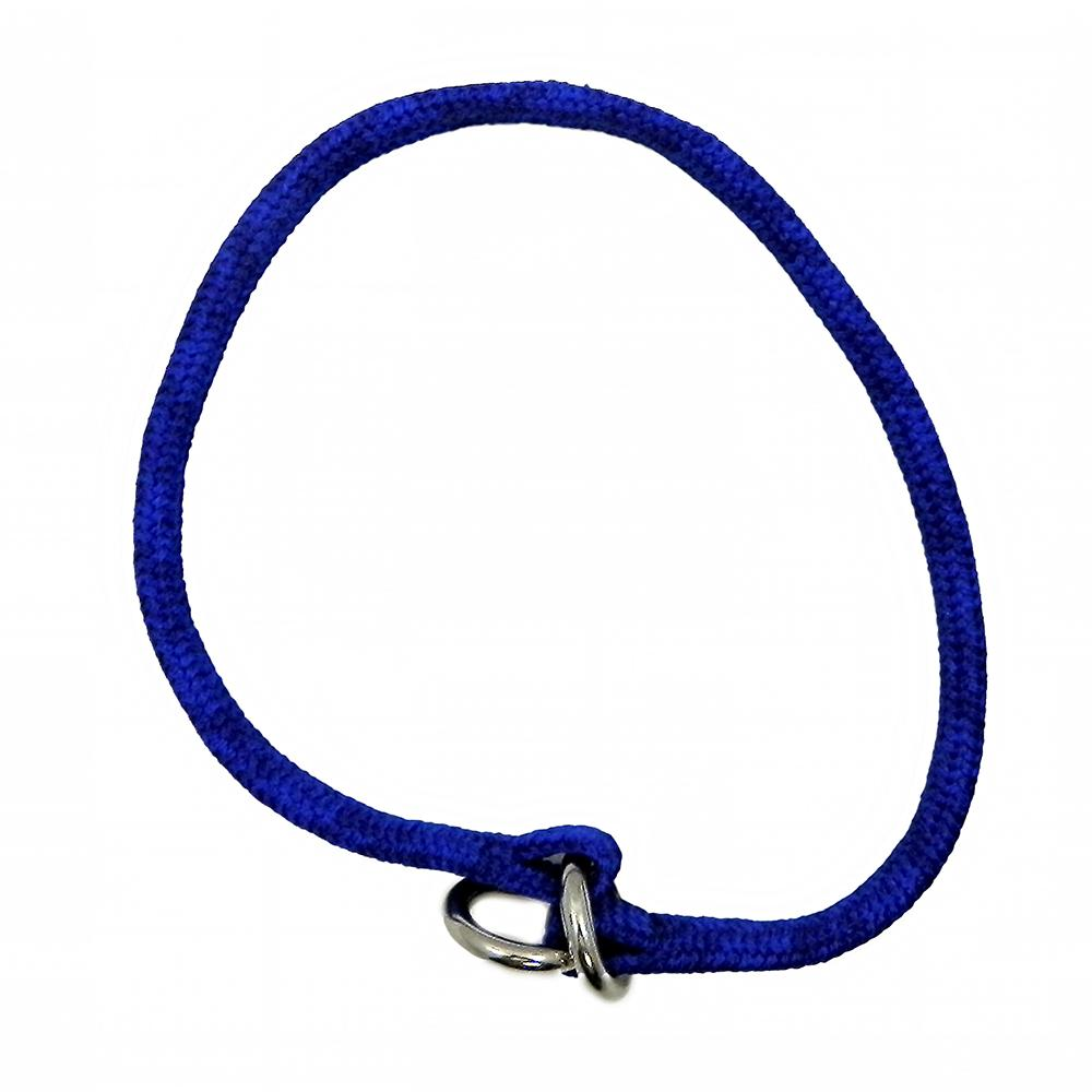 Nylon Dog Choke Blue Collar 22in