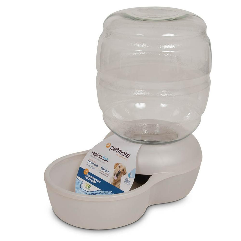 Replendish Automatic Gravity Feed Pet Waterer 4-Gallon