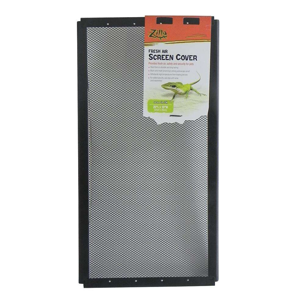 Zilla Fresh Air Screen Terrarium Cover 10 x 20-inch