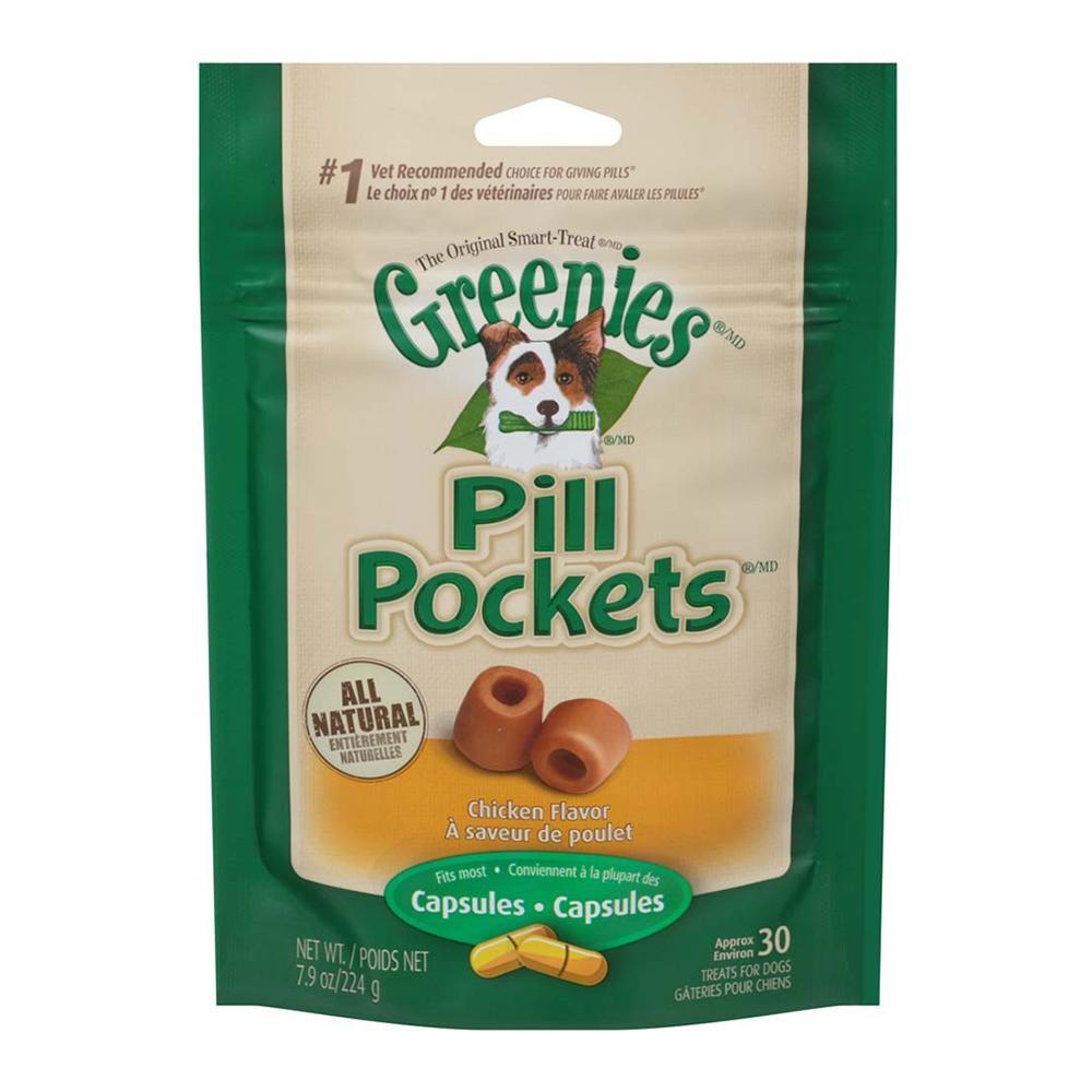 Pill Pockets Dog Medium Large 30 Count Chicken
