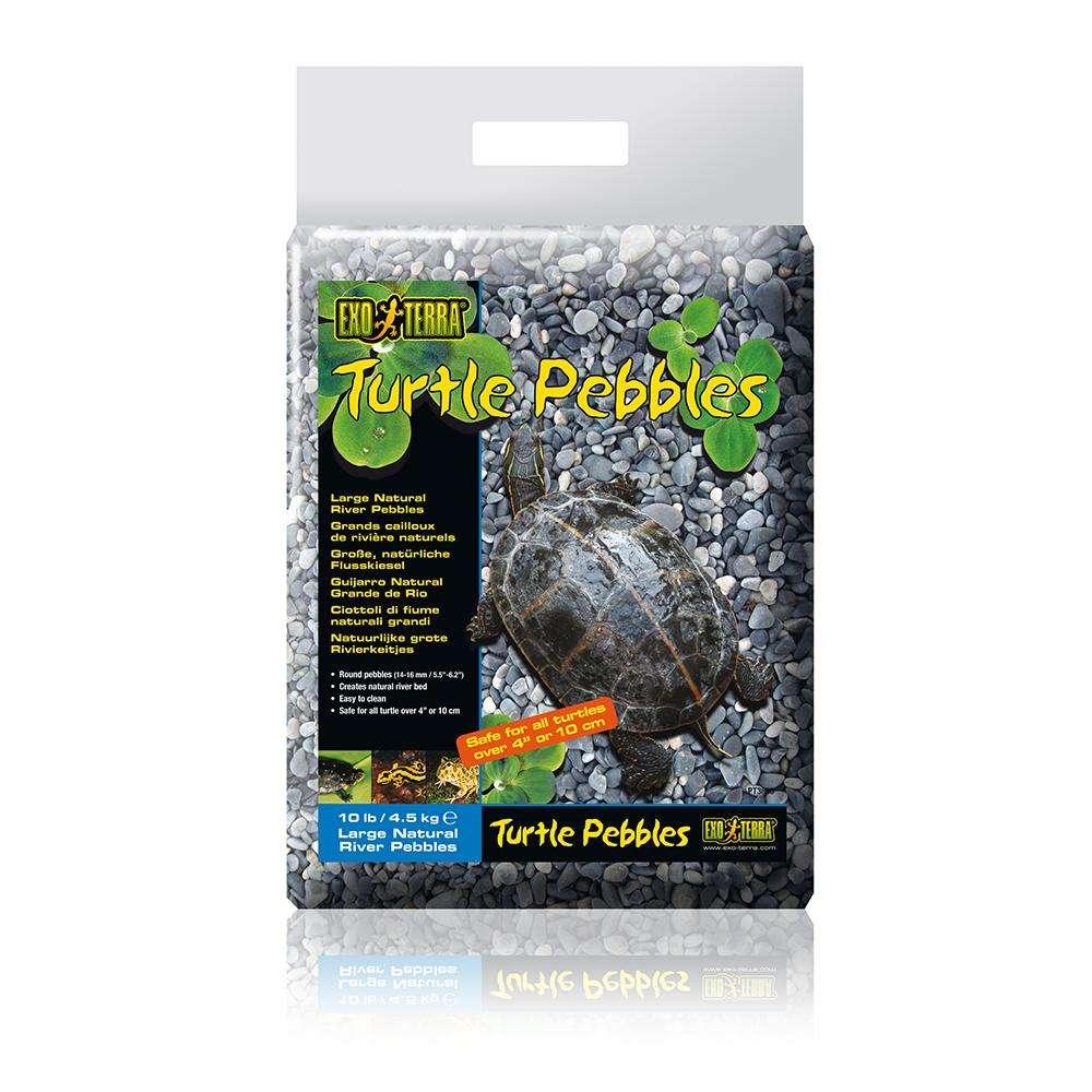 Exo Terra Large Turtle Pebbles 10Lb. Aquatic Turtle Gravel