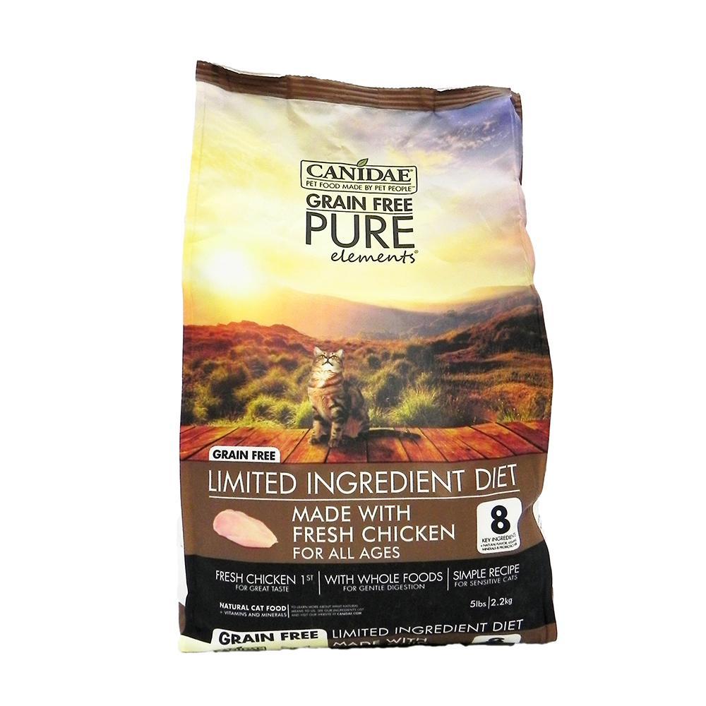 Felidae Cat Pure Elements Grain Free Cat Food 5Lb.