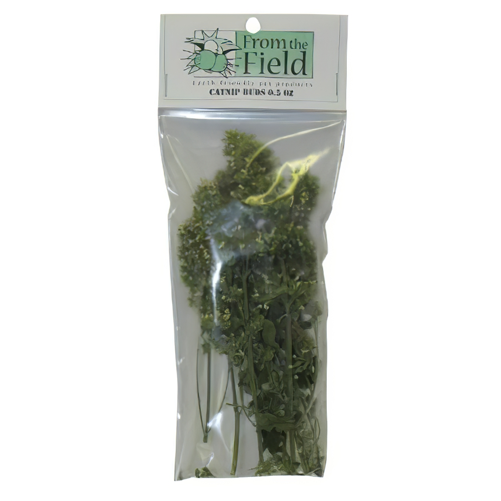 From the Field Catnip Buds for Cats 0.4-oz.