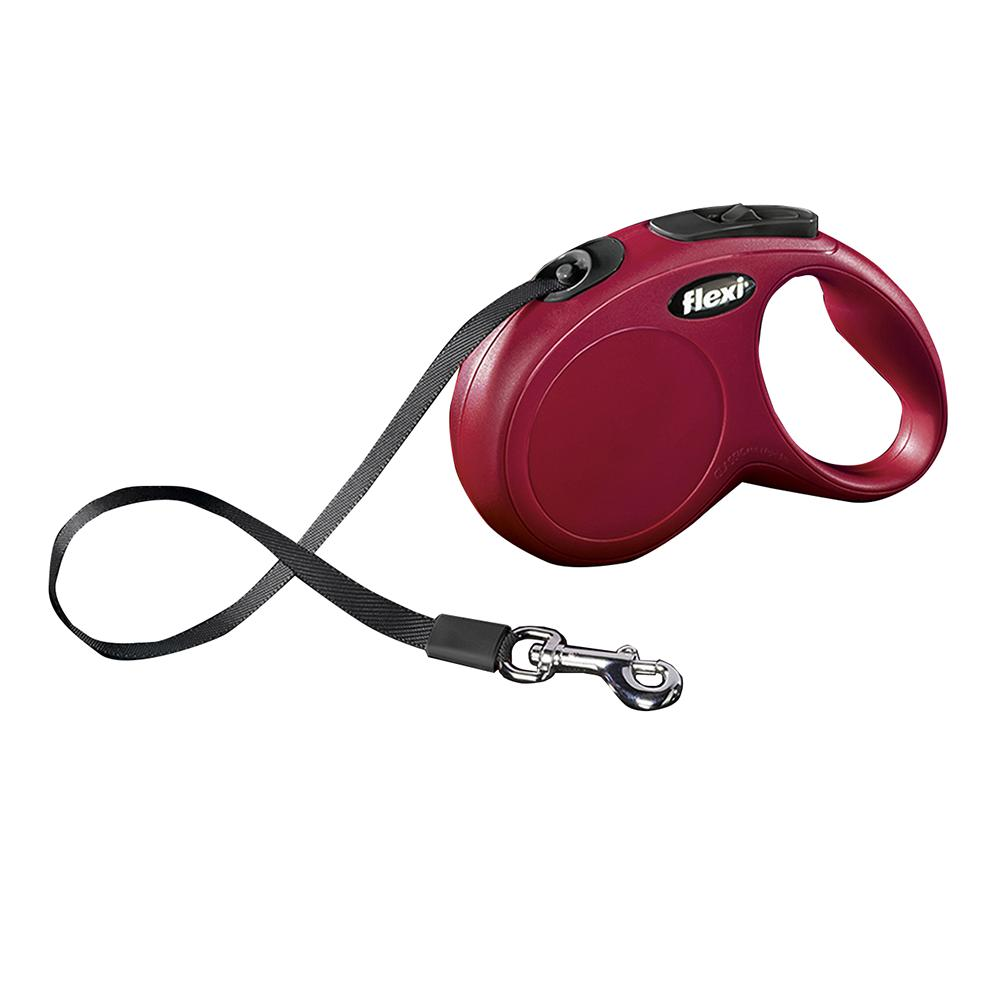 Flexi Large Red Retractable Tape Dog Leash