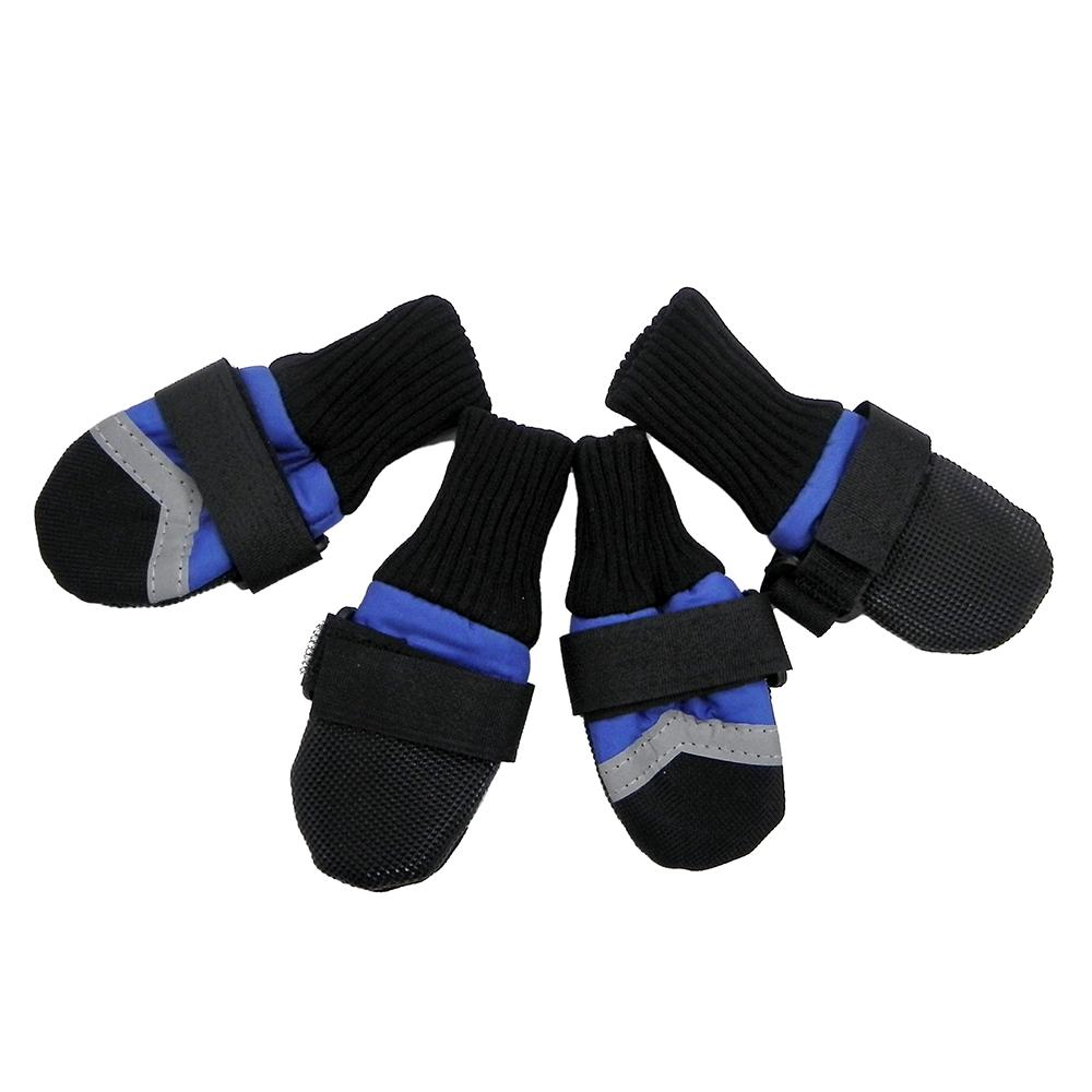 Guardian Gear XXLarge Blue All-Weather Dog Boots