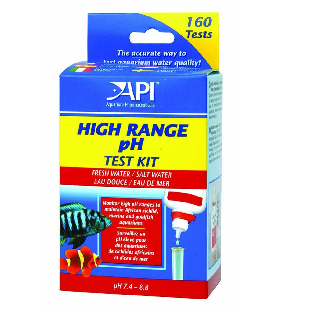 API High Range pH Test Kit for Fresh and Saltwater Aquariums