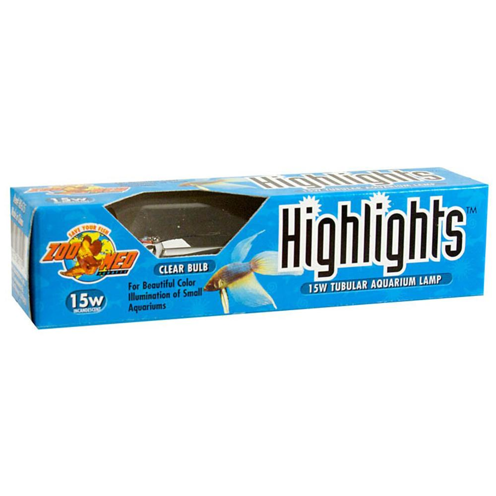 HighLights 15w Incandescent Clear Aquarium Lamp