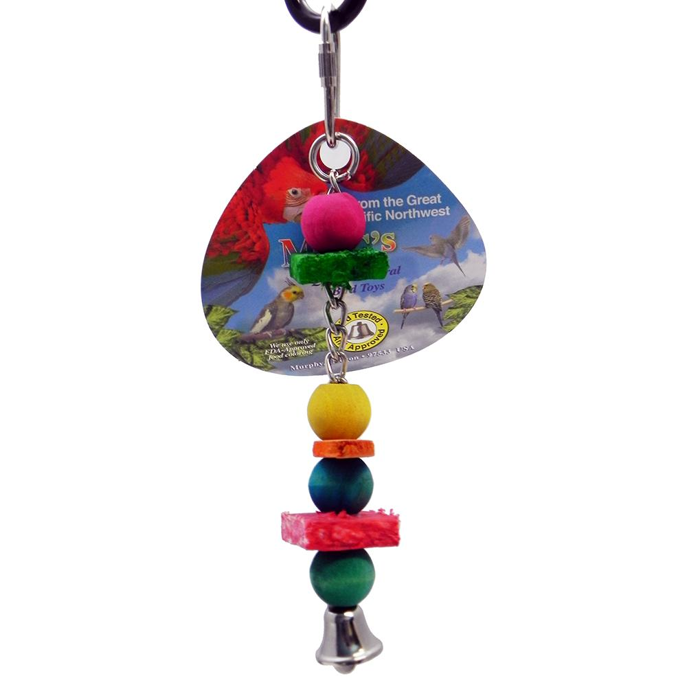 Mac's Sisal Bead Small Bird Toy