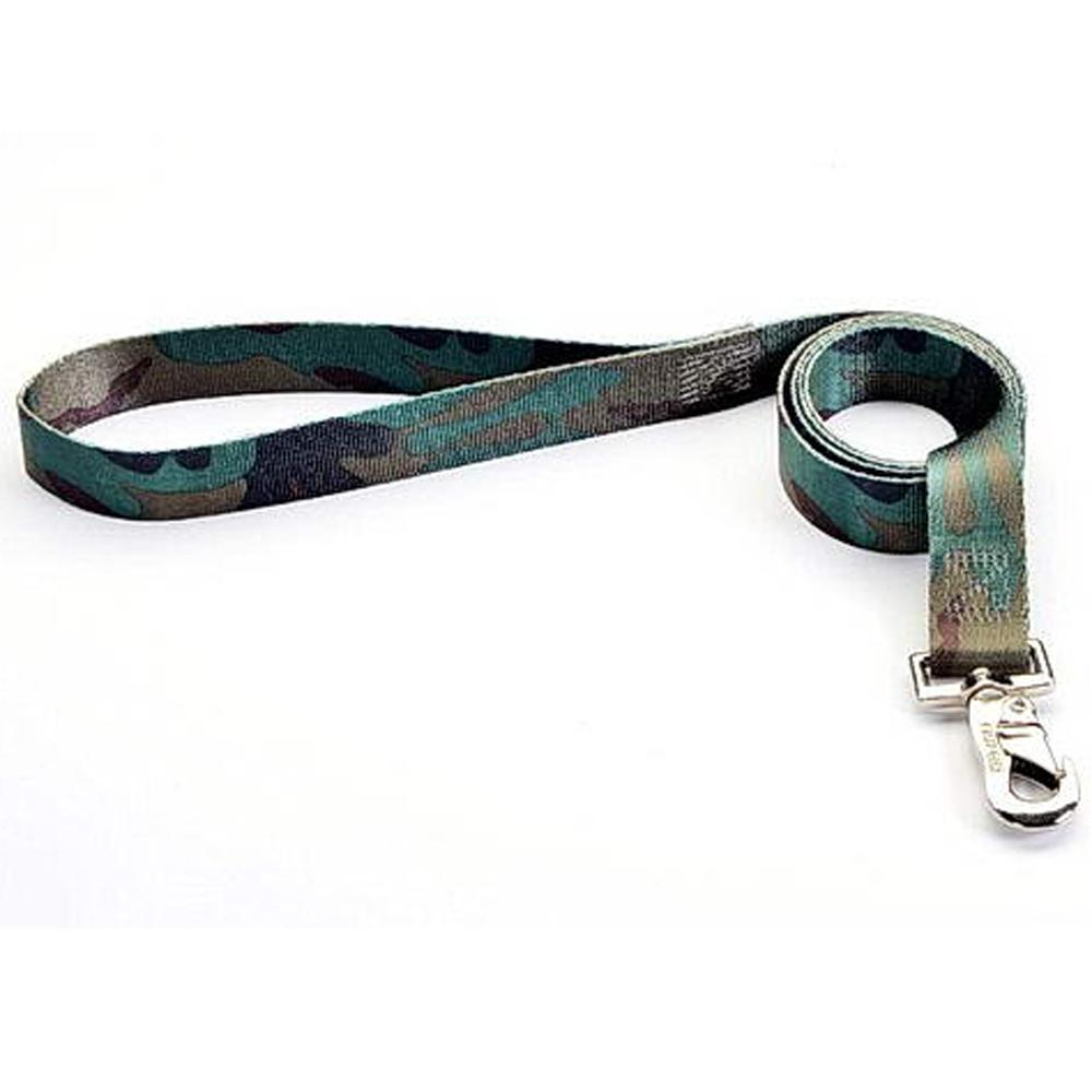 Tuff-Lock Large Camo Nylon Leash 3/4in x 6-ft.