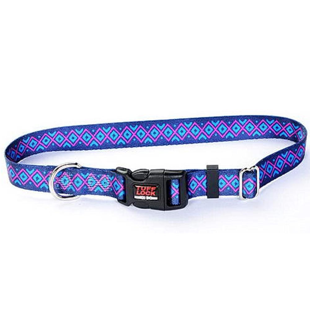 Tuff-Lock Large Inca Adjustable Nylon Dog Collar
