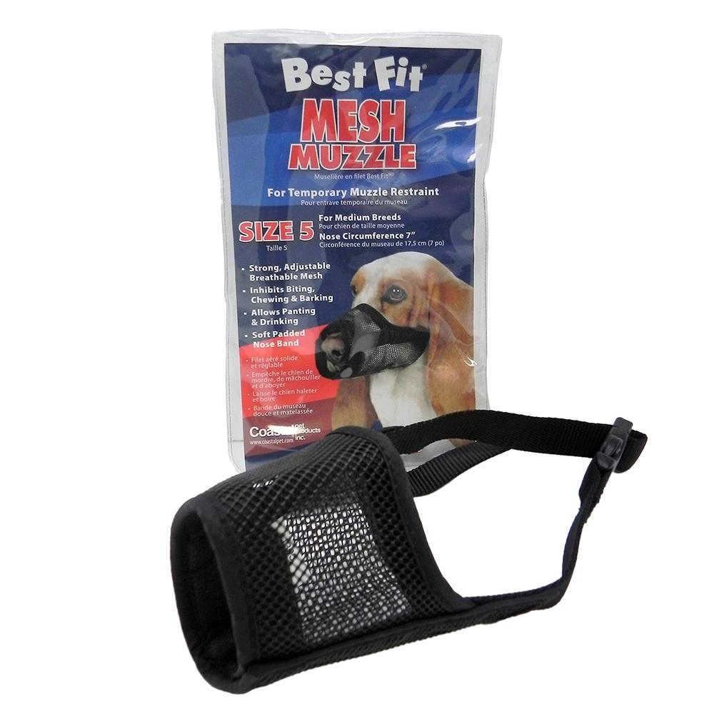 Best Fit Mesh Dog Muzzle Size 5