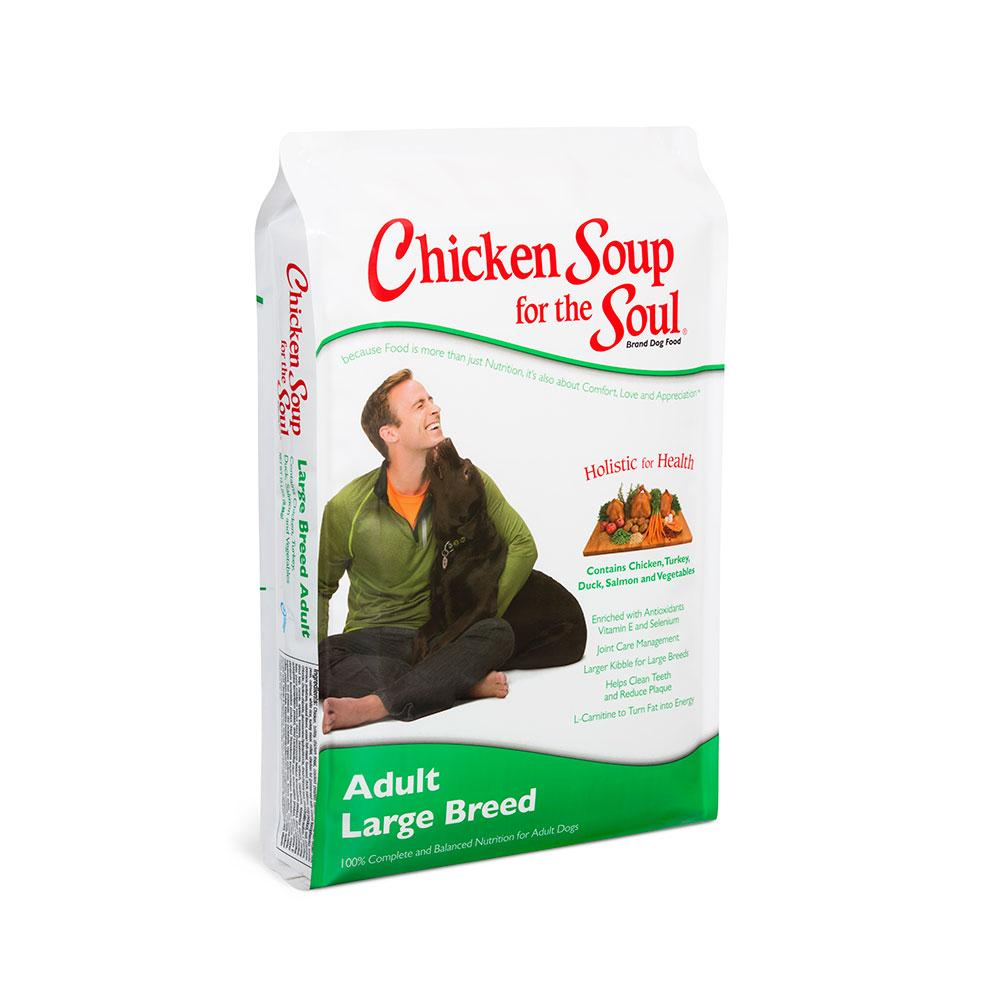 Chicken Soup Dog Adult LG 18lb
