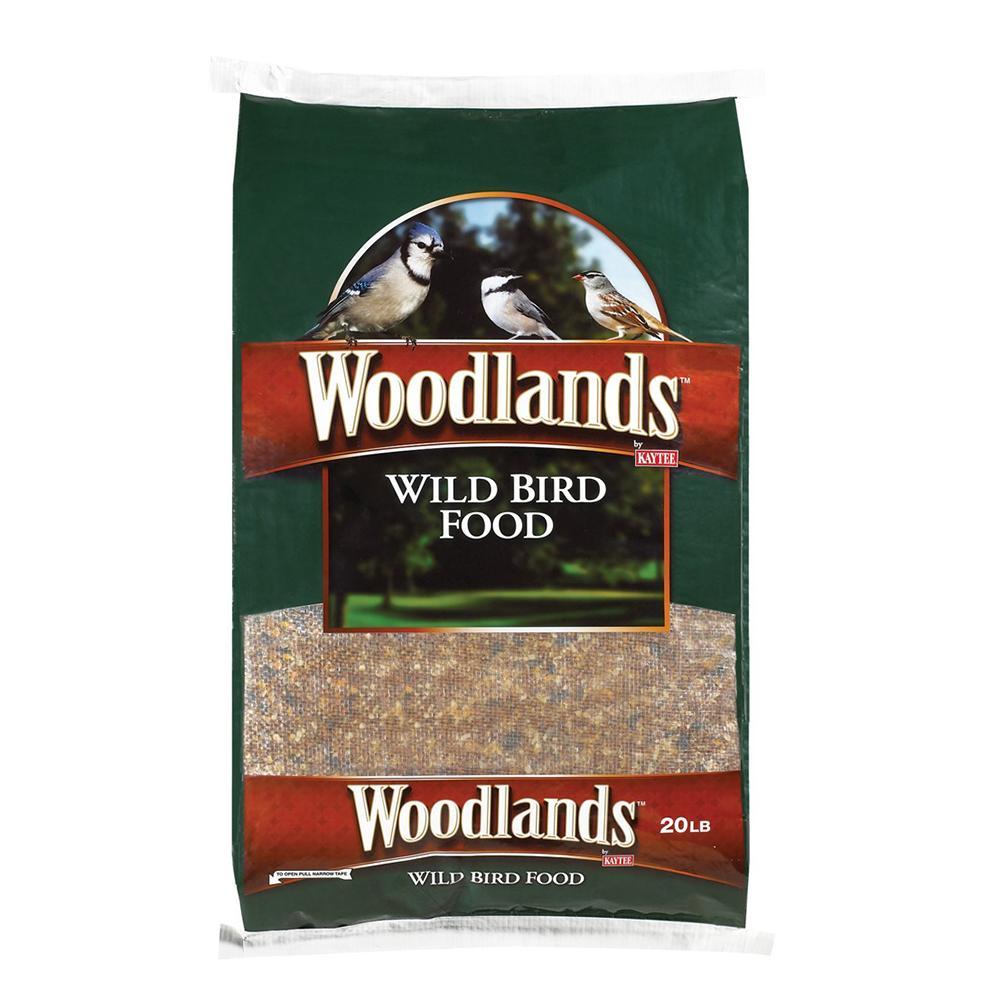 Kaytee Woodlands Wild Bird Food 20lb