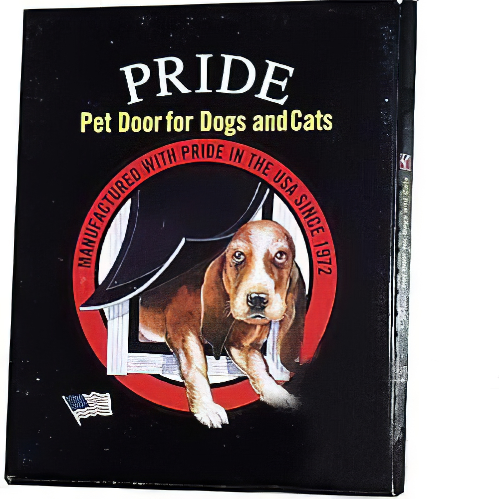 Pride Anodized Silver Pet Door XLarge XLD600