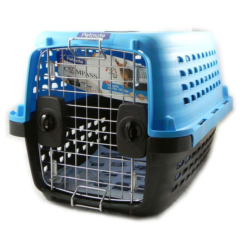 Petmate Compass Pet Carrier 19-inch For Pets Up To 10Lbs.