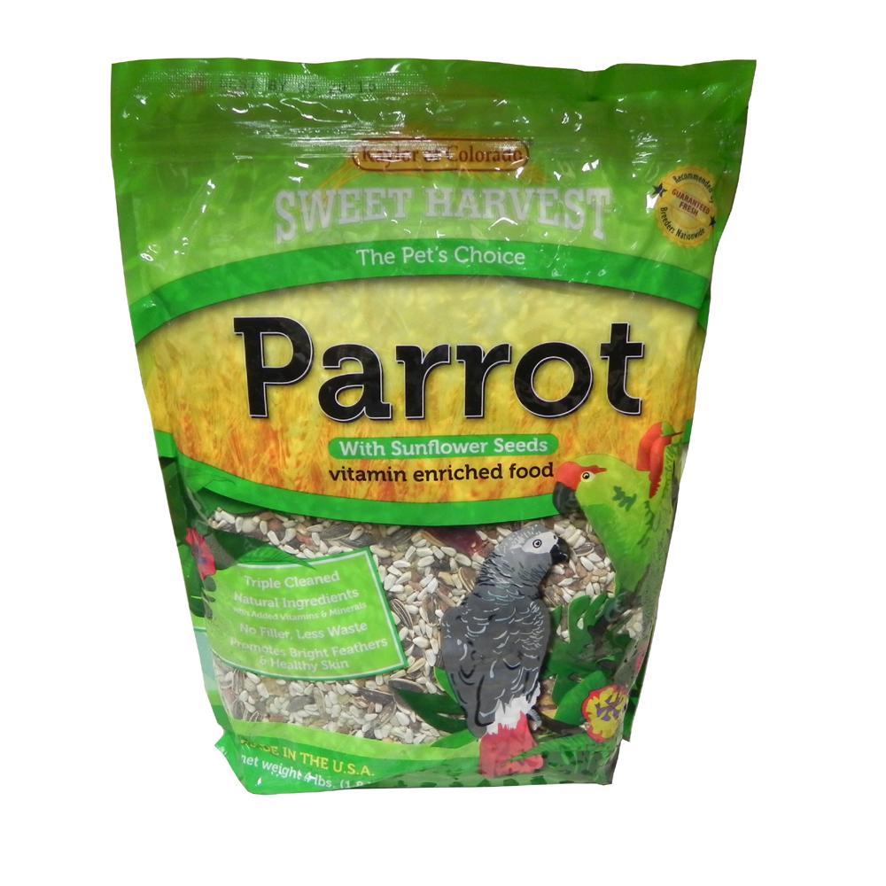 Sw Harvest Parrot w/ Sun 4 lb