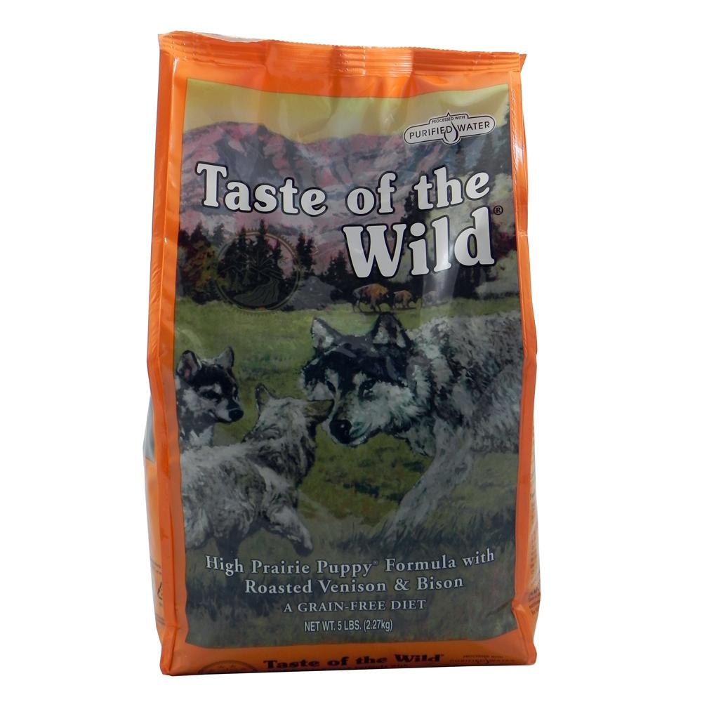 Taste of the Wild High Prairie Grain-Free Puppy Food 5Lb.