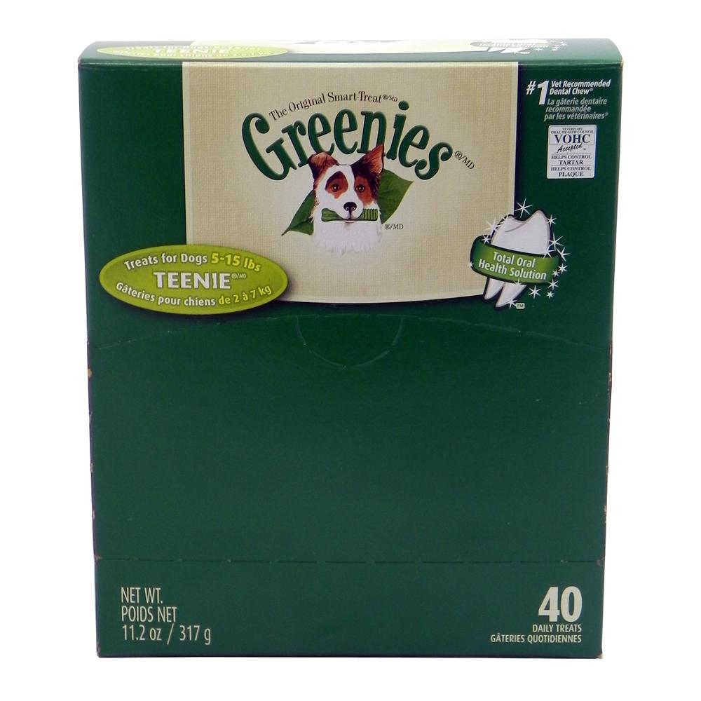 Greenies Teenie Size Dog Dental Treat 40 Pack
