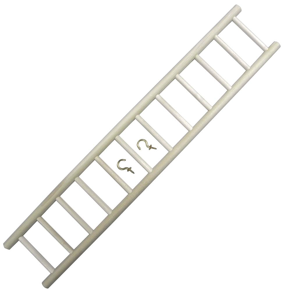 Bob's 24-inch Wooden Parrot Ladder