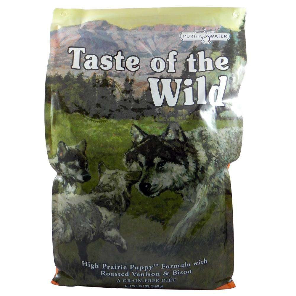 Taste of the Wild High Prairie Grain-Free Puppy Food 15Lb.