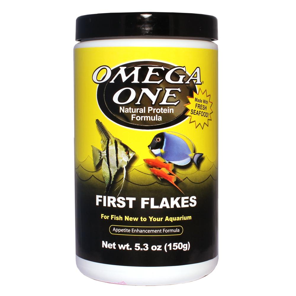 Omega One First Flake Fish Food 5.3 ounce