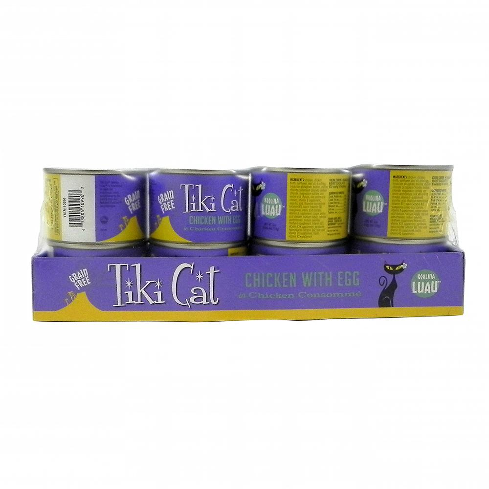 Tiki Cat Koolina Grain Free Chicken Gourmet Cat 6 oz Case