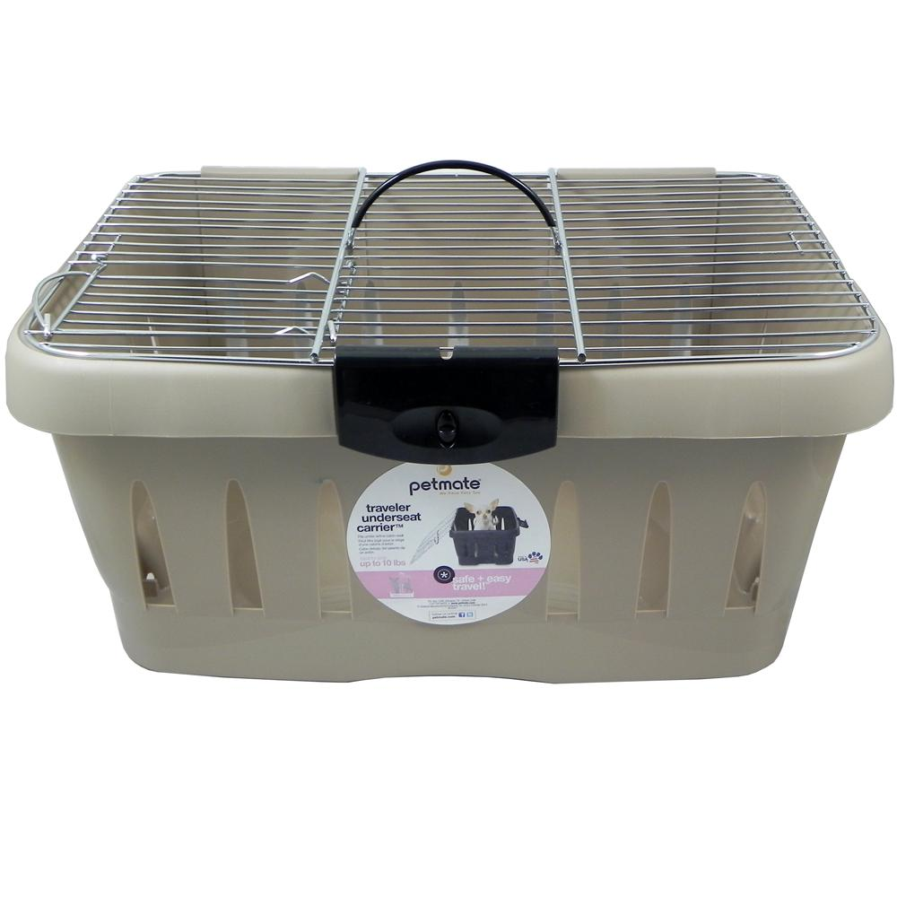 Petmate Traveler Underseat Small Animal Airline Carrier