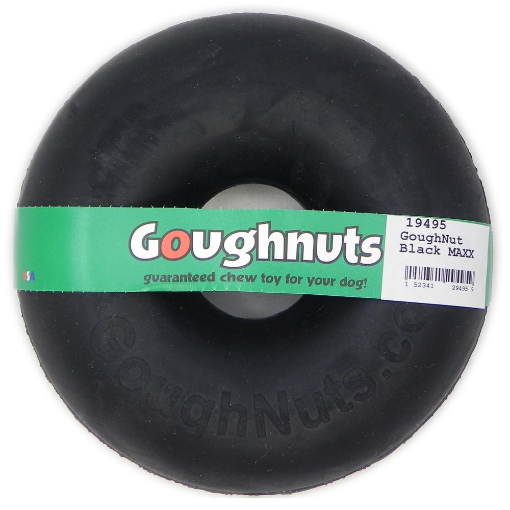 GoughNut Black MAXX Dog Chew Toy