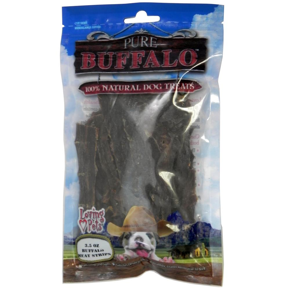 Loving Pets Buffalo Jerky Strips 3.5 oz