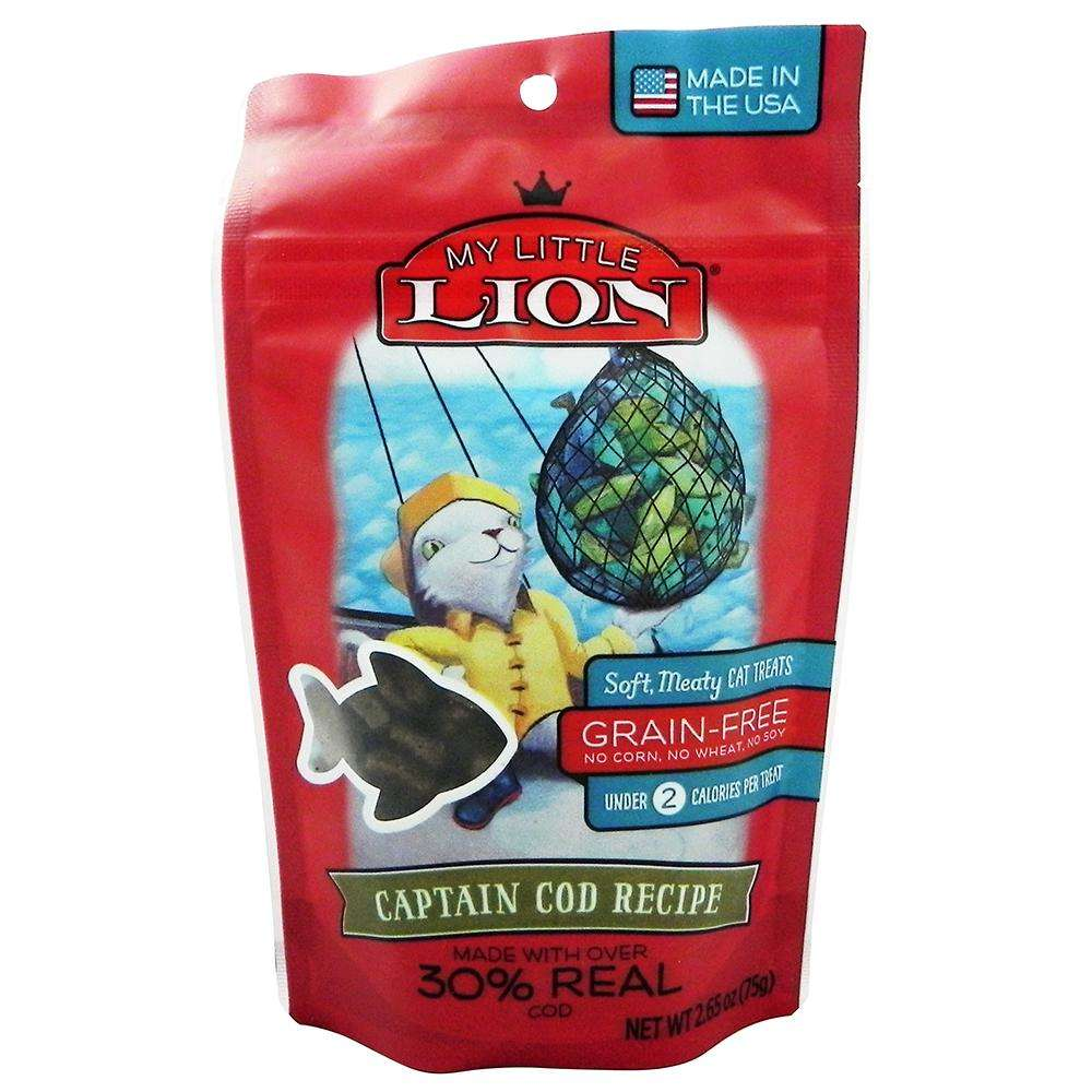 Waggers My Little Lion Cat Treat Cod Recipe 2.65 oz