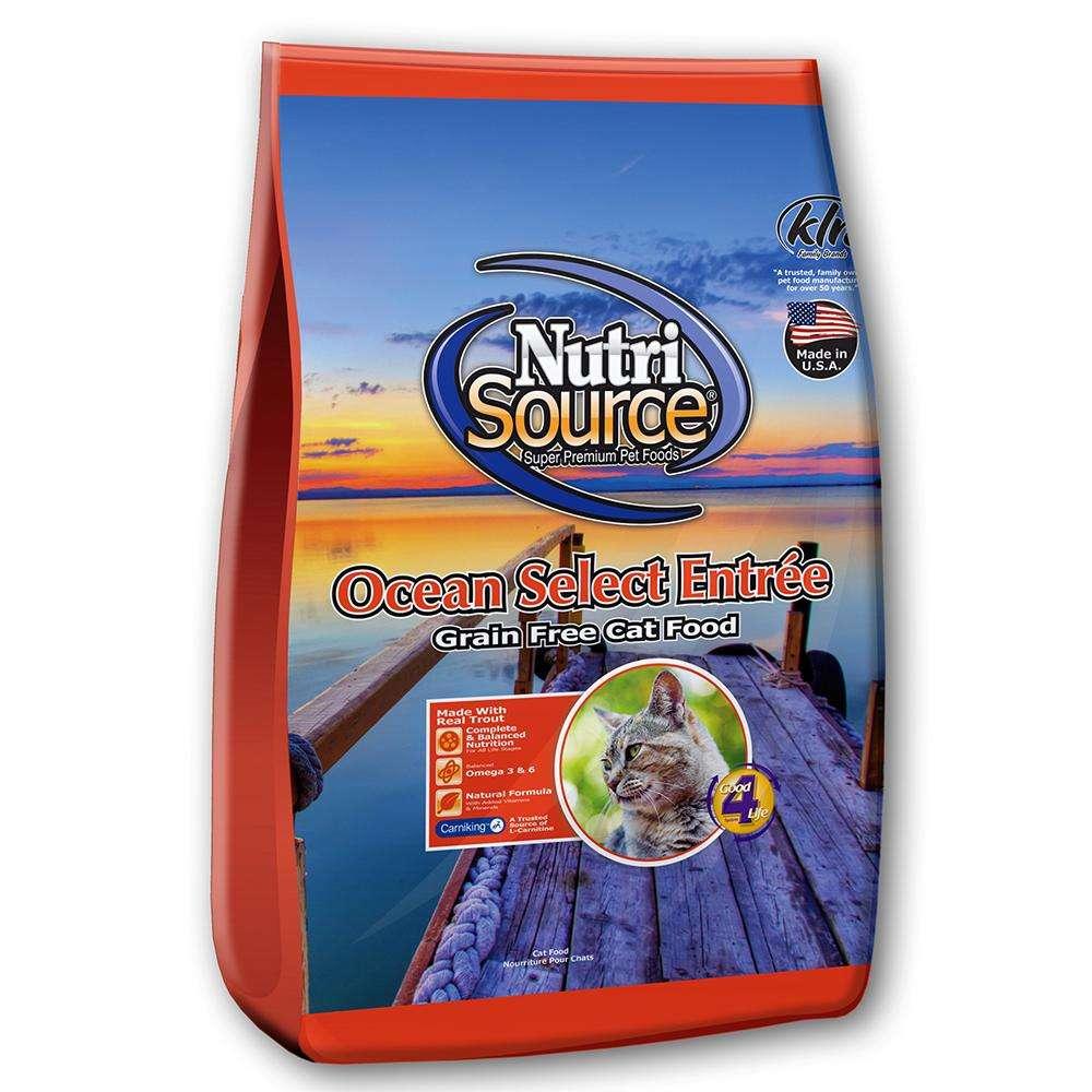 NutriSource Ocean Select Entree Grain Free Cat Food 2.2lb