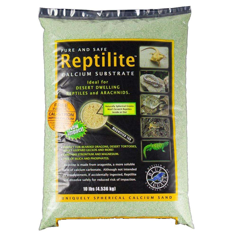 Reptilite Calcium Substrate Reptile Sand 10 lb Moss Green