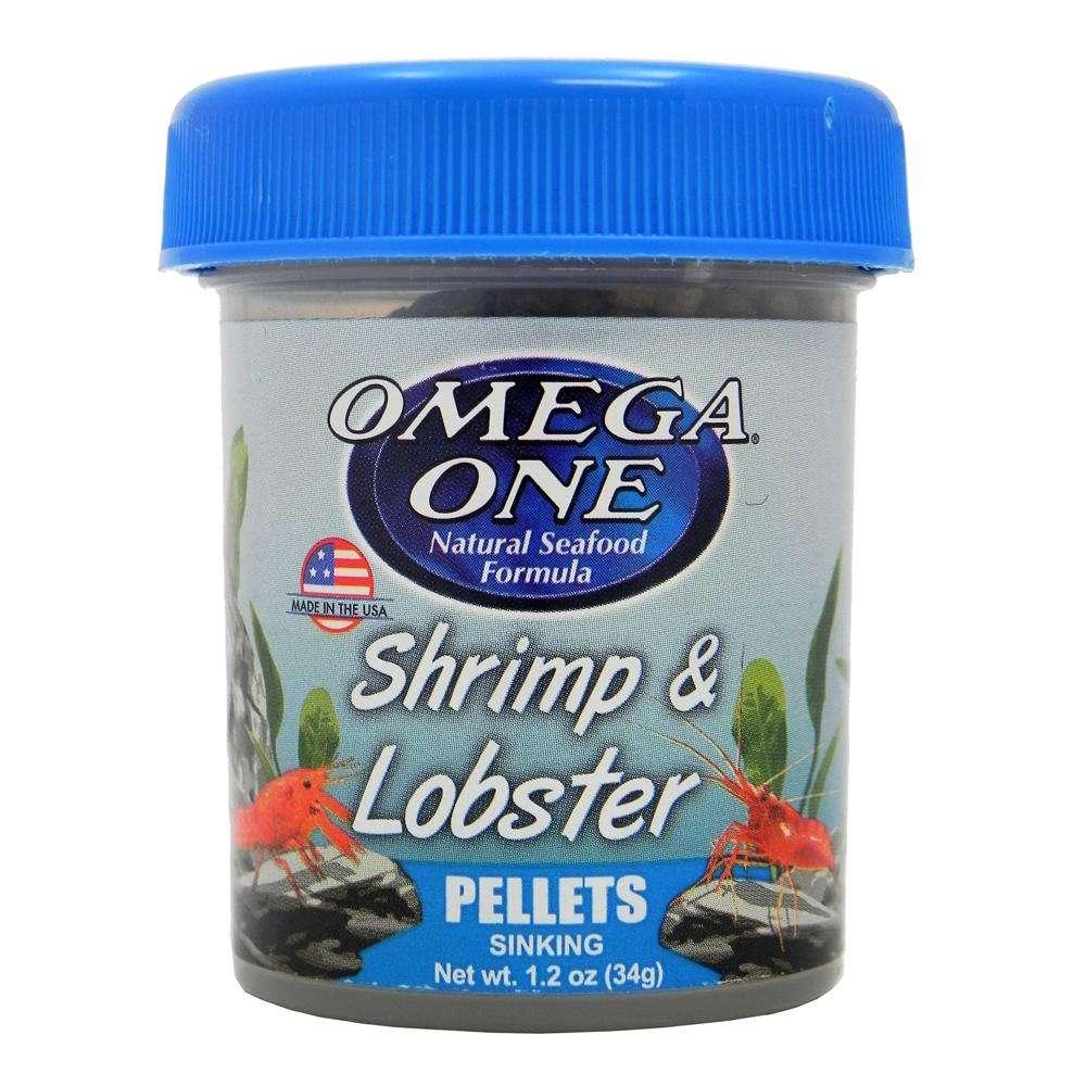 Omega One Shrimp and Lobster Pellets 1.2-oz