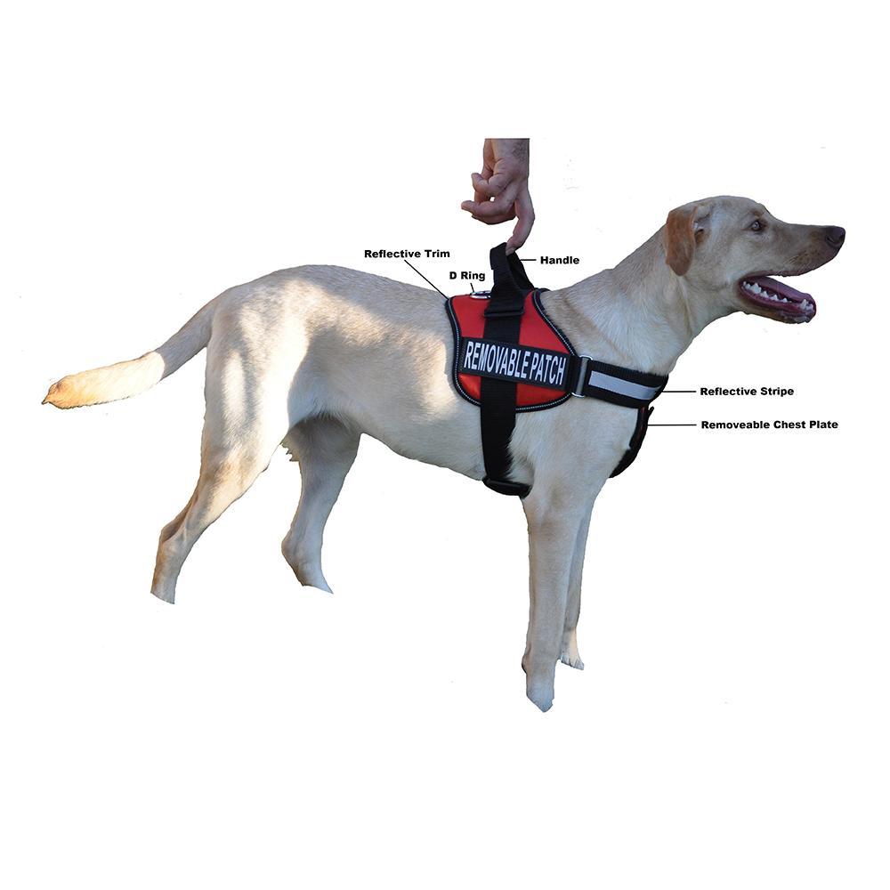 Unimax Multi Purpose Harness Red Medium